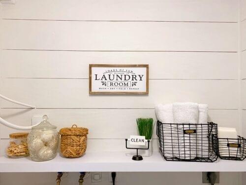 Boca Raton Laundry Service & Laundry Room Makeover