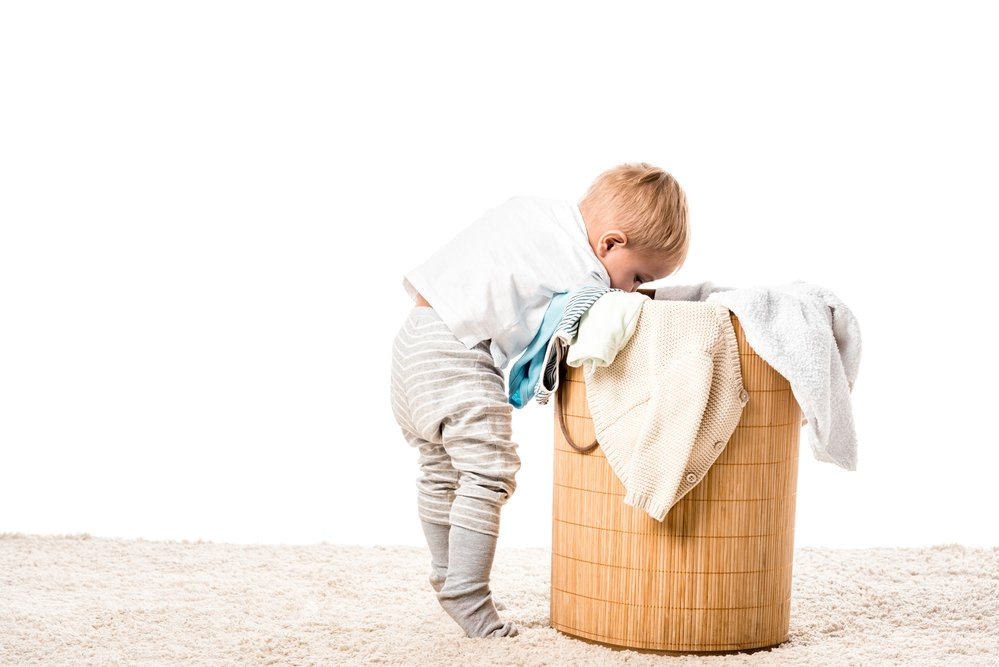 How can I deal with all of this baby laundry?