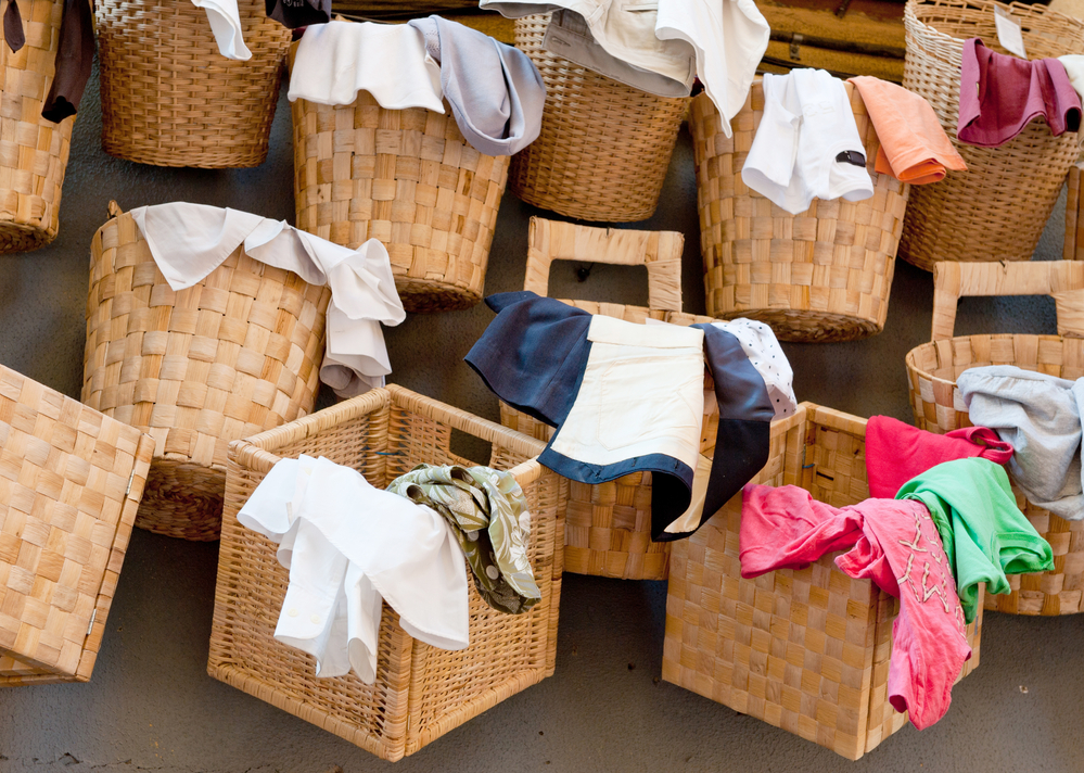 Are you tripping over your roommate's laundry in your apartment?