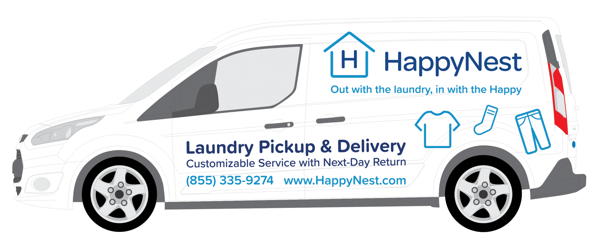 HappyNest Ford Transit Connect