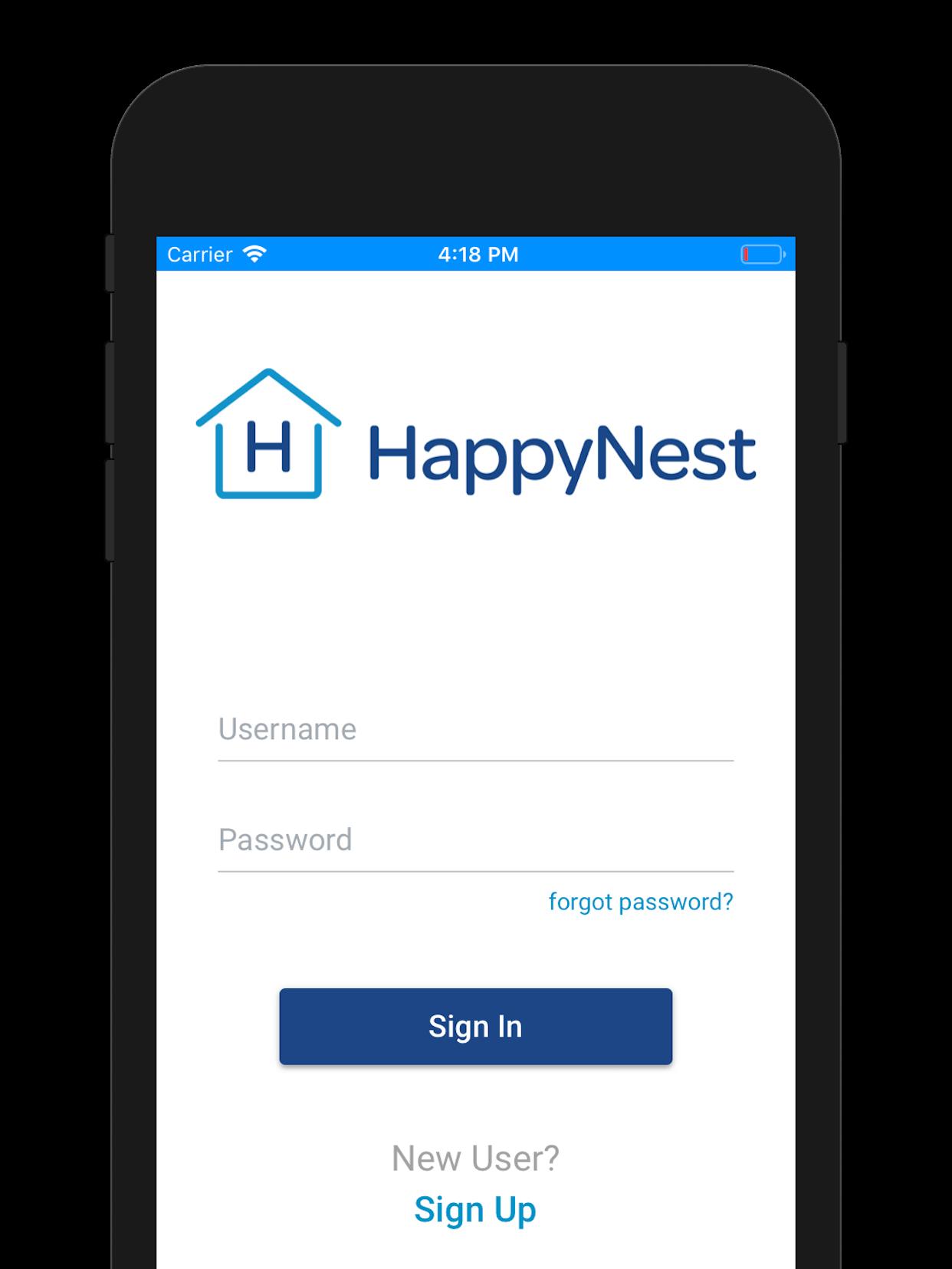 happynest ios app