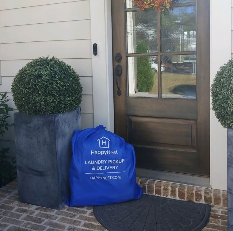 """Gone with the…laundry""? HappyNest Laundry Service is now in North Atlanta!"
