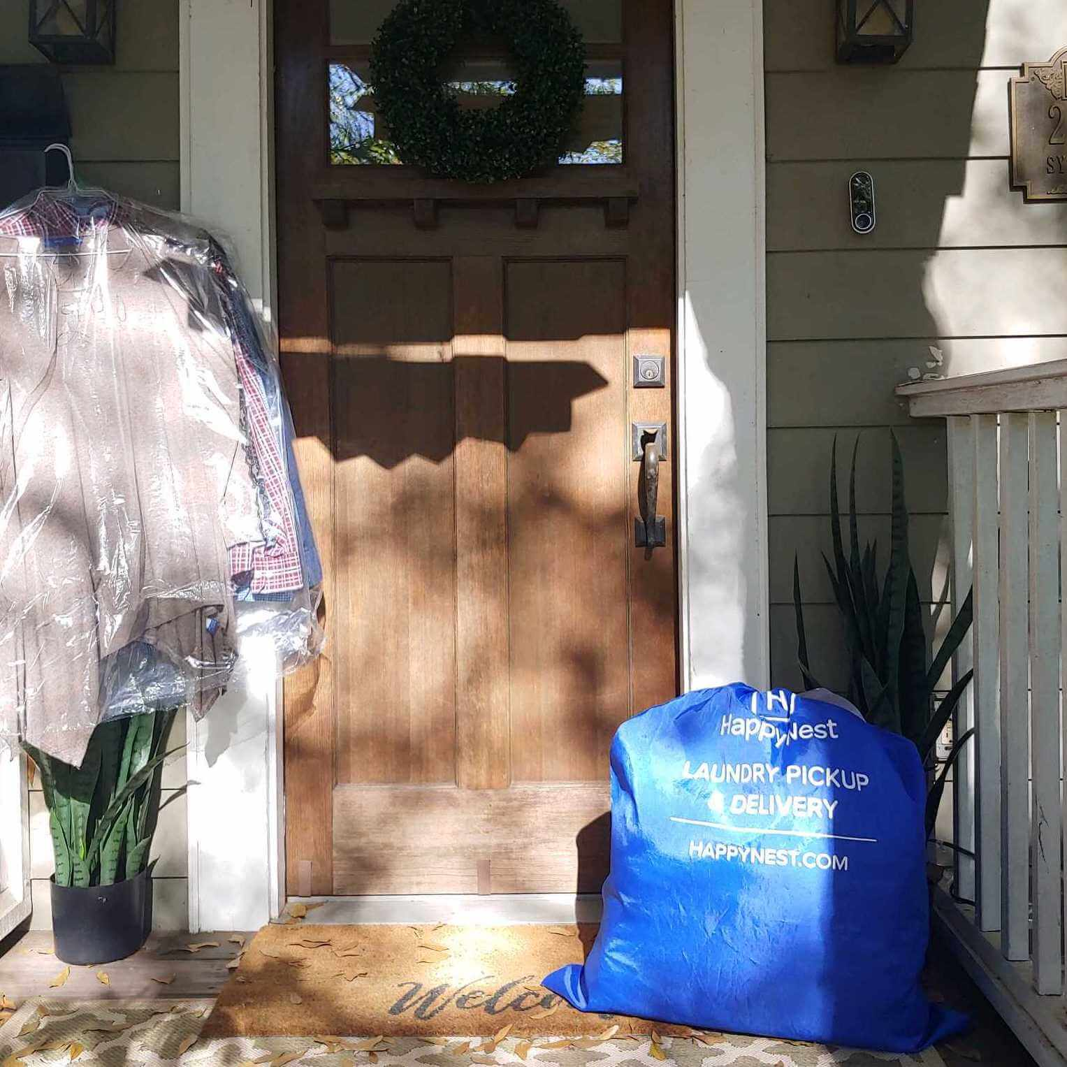 HappyNest Pickup and Delivery Laundry Service Now Available in Denver via Sunshine Dry Cleaners & Laundromat