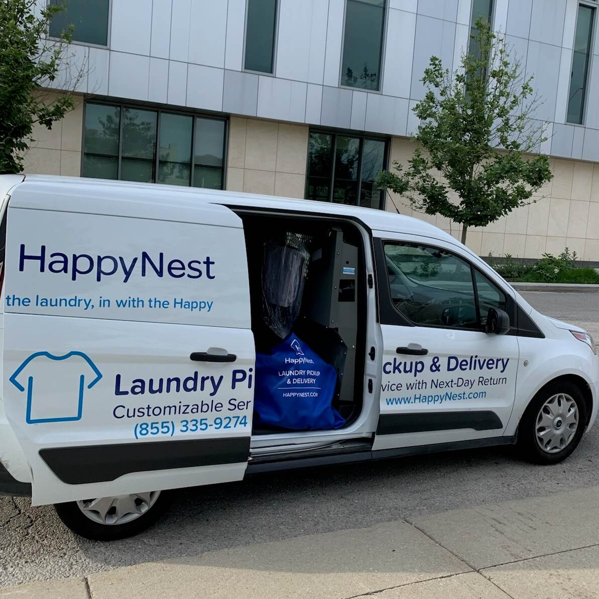 "Atlanta just got ""hotter"" with HappyNest Laundry Service!"