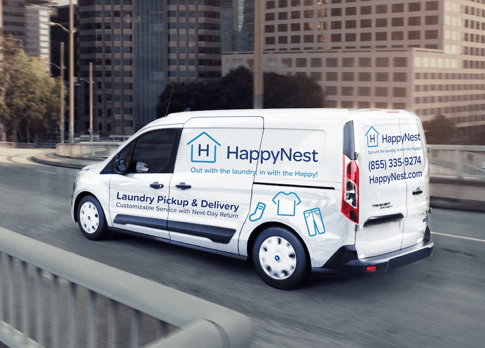 Dayton, Ohio Welcomes HappyNest Pickup and Delivery Laundry Service