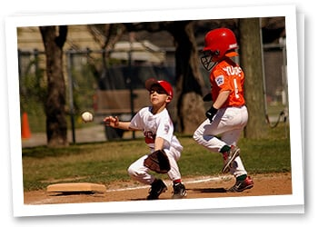 Little League with Big Stains. Our Laundry Service Can Help.